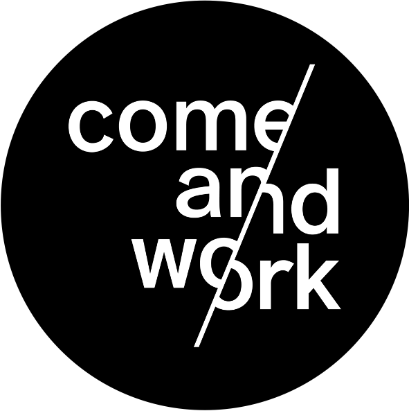 logo comeandwork come and work